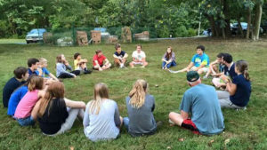 Youth retreat at Shrinemont